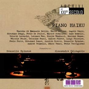 CD PIANO HAIKU – ARCHIVI DEL XXI°SECOLO