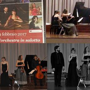 """Pianox2 & il progetto """"L'orchestra insalotto"""""""